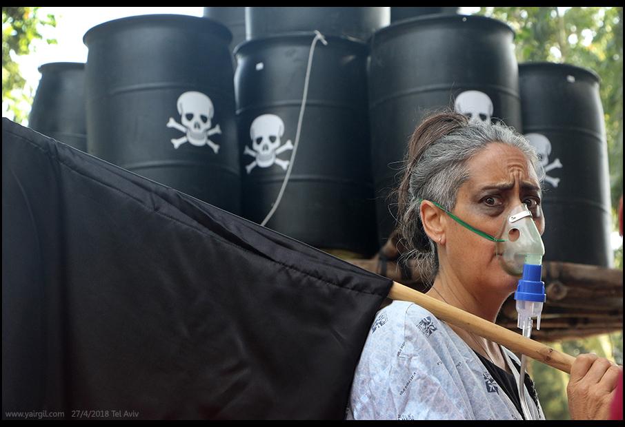 נגד אסדות גז בקרבת החוף