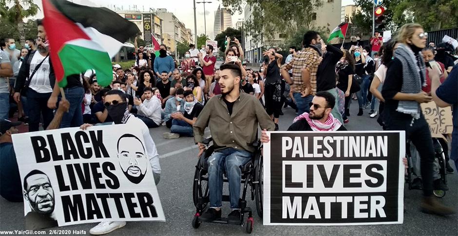 מחאת עיאד אלחלאק, חיפה