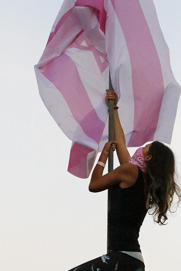 טקס הנפת דגל הדיו 2020